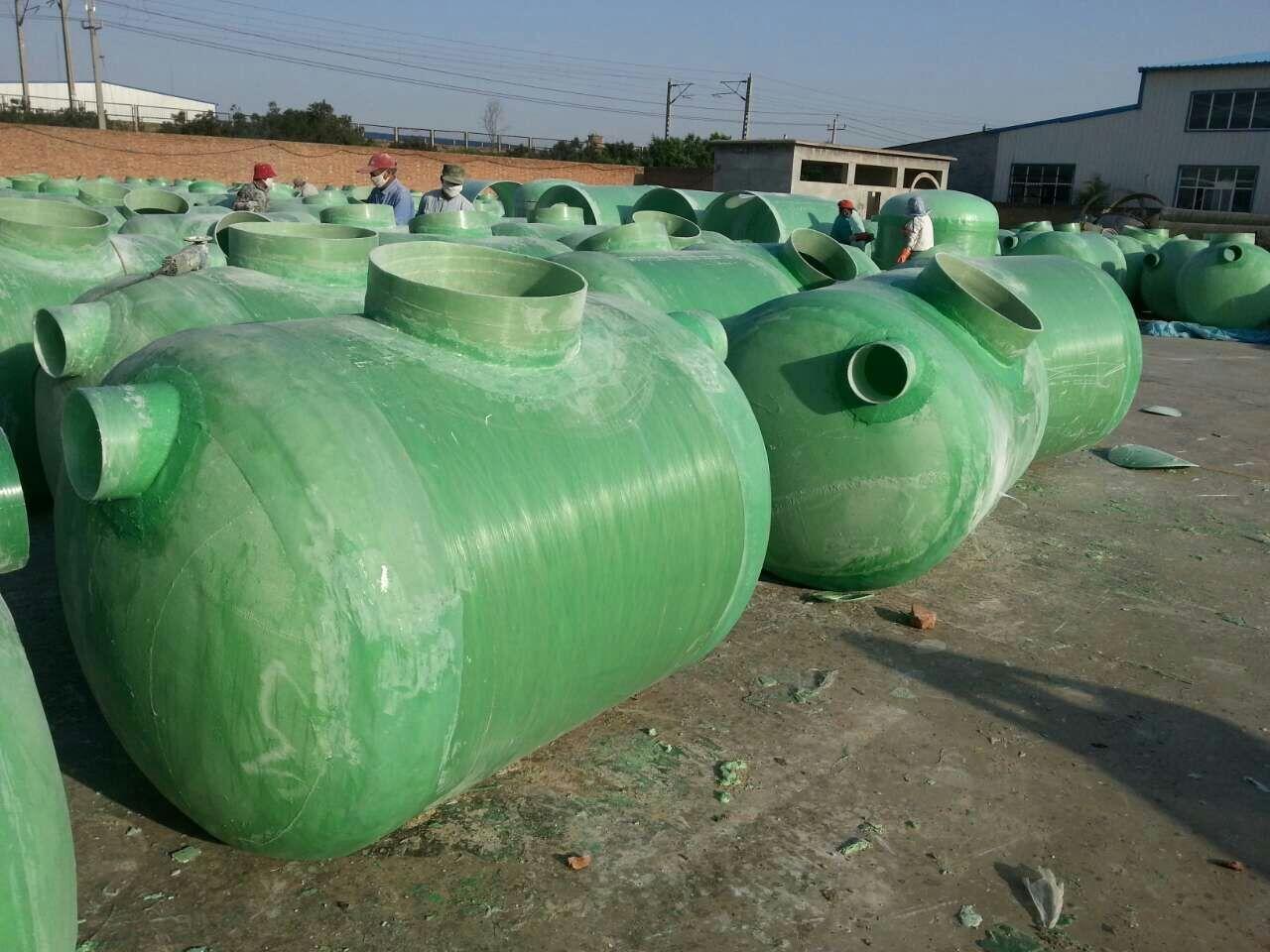 供应玻璃钢家用化粪池|河北玻璃钢家用化粪池价格