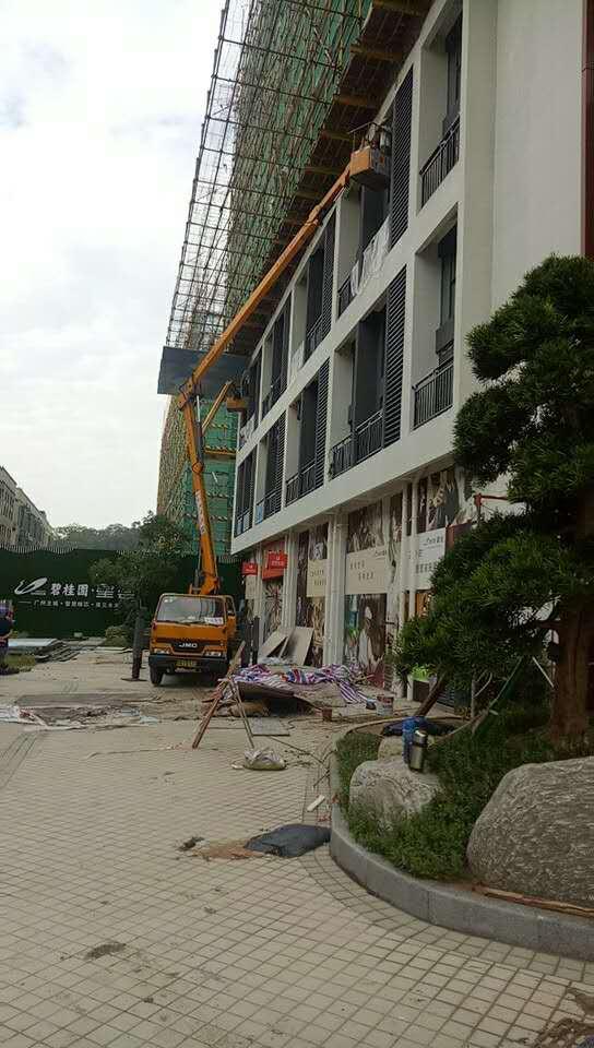 广州哪里有实惠的高空作业车出租|连州高空车出租