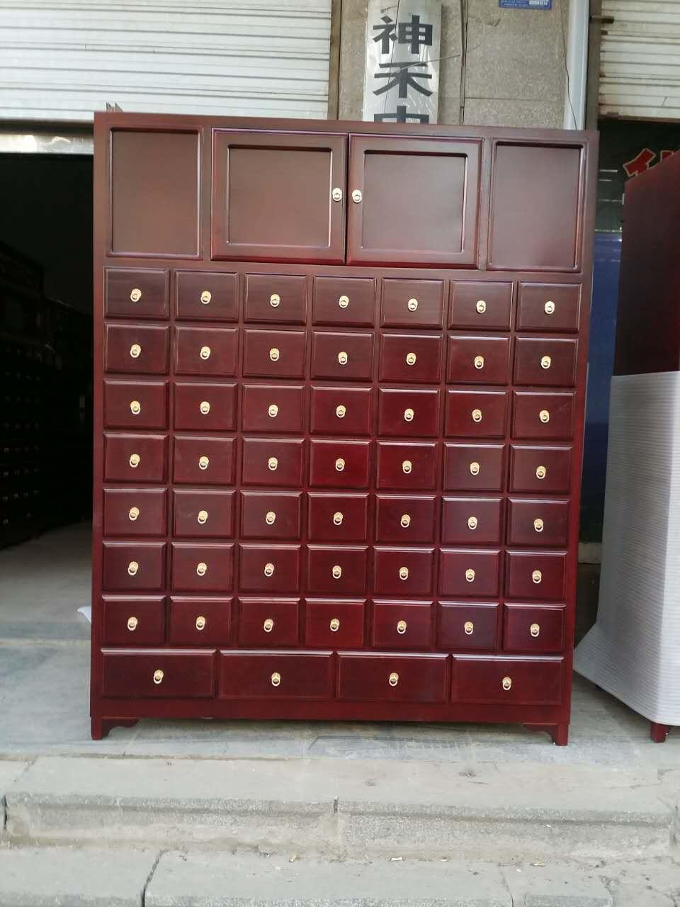 蝙蝠拉手中药柜制造公司_哪里能买到好用的松木中药柜