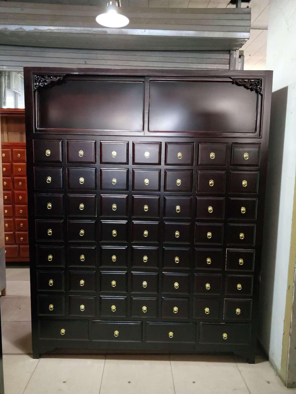 草药柜品牌好-物超所值的松木中药柜华都中药柜供应