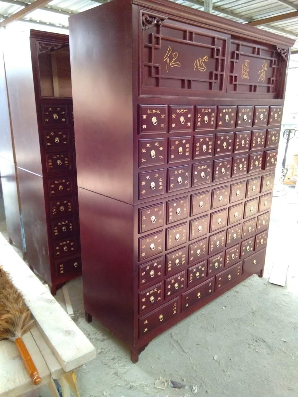 口碑好的草药柜-实用的松木中药柜推荐