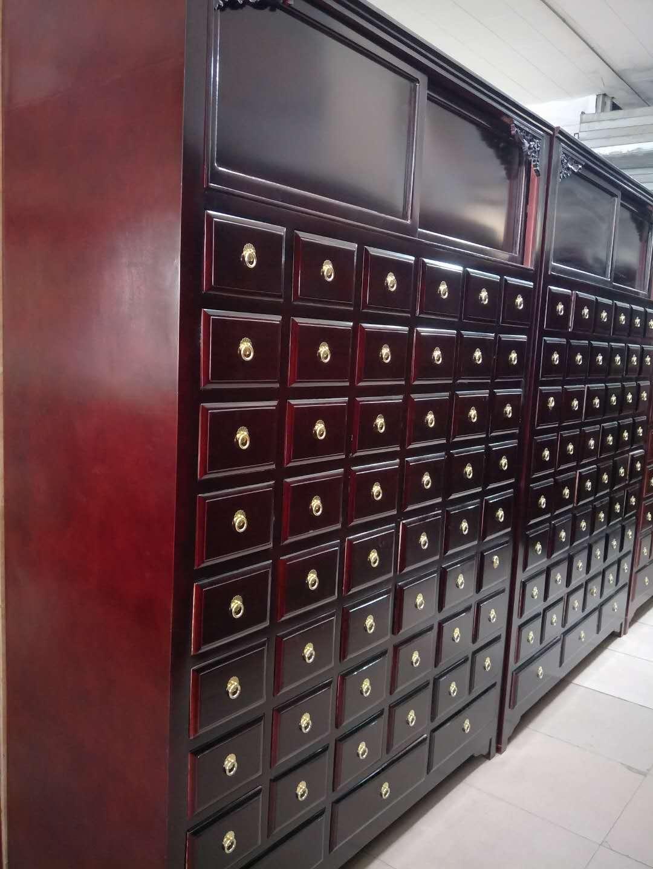 草药柜品牌好-物超所值的松木中药柜供应