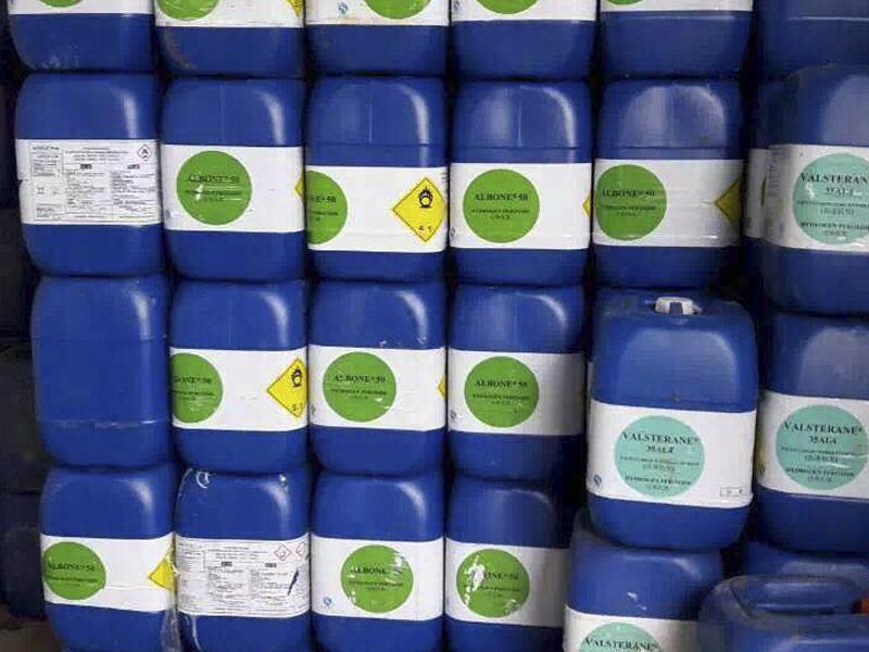 品质好的纯良醋酸广东厂家直销供应-广州27.5%双氧水厂家直销