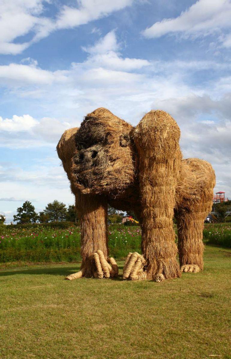 安庆厂家推荐大型草雕-特色的大型草雕当选茂禾景观