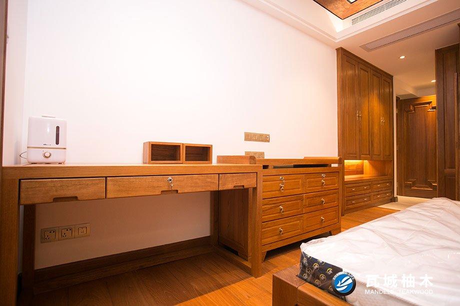 天美整木家具广州柚木门您的品质之选-佛山广州柚木门