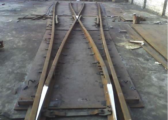 道岔认准--林州市煤矿道岔配件总厂