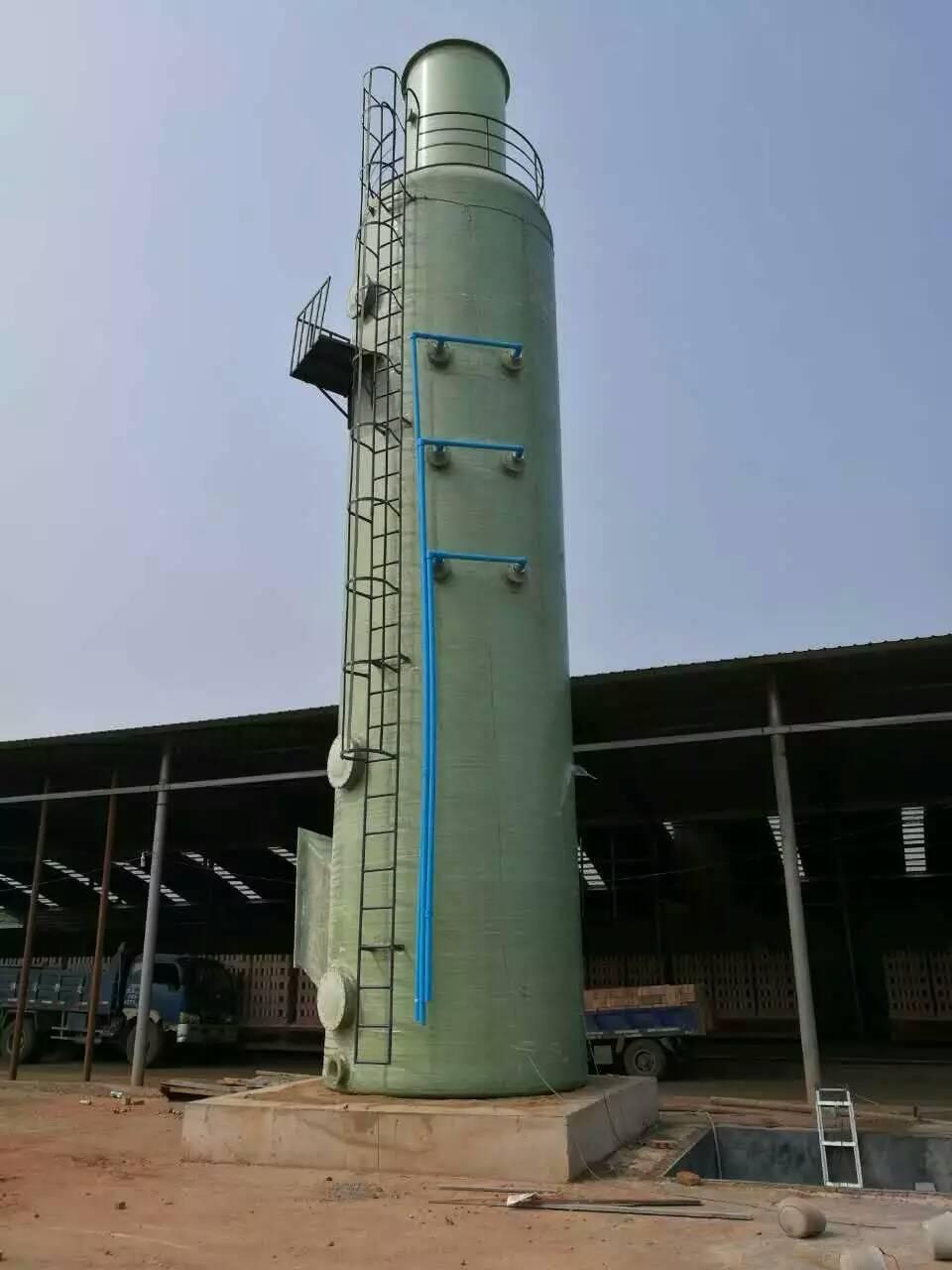 玻璃钢脱硫塔除尘器价格|润达玻璃钢脱硫塔除尘器作用怎么样