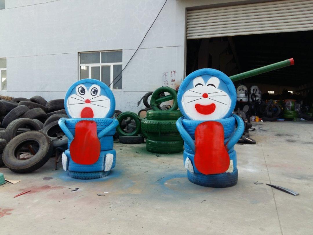江西轮胎创意小品批发商-出售江苏口碑的轮胎创意小品