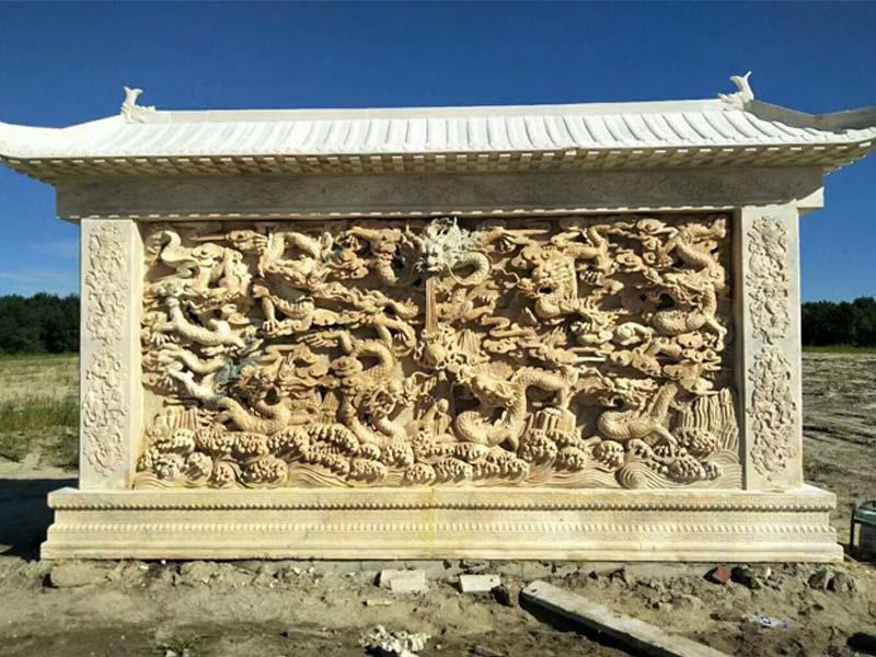 风景浮雕图片-精湛的石雕浮雕尽在翰锦