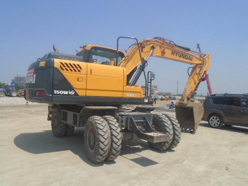 江苏现代R150WVS挖掘机价格|热门现代R150WVS挖掘机动态