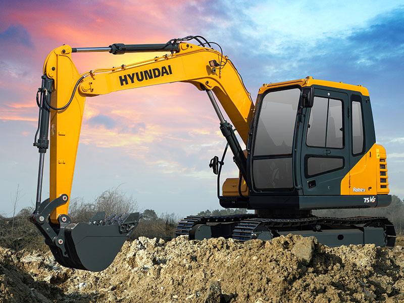 现代R75BDVS挖掘机供应厂家-供应江苏质量好的现代R75 B DVS挖掘机