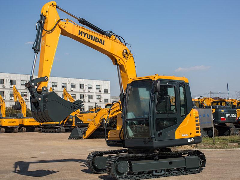 江苏现代R75BDVS挖掘机批发|江苏专业的现代R75 B DVS挖掘机哪里有供应