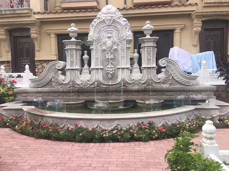 石雕喷泉公司|精湛的园?#36136;?#38613;尽在翰锦