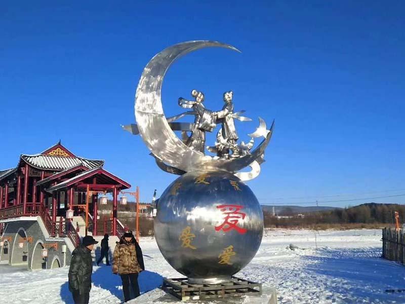 不锈钢雕塑景观-翰锦专业提供不锈钢雕塑
