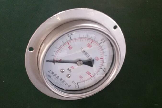 船用不锈钢压力表上海自动化仪表四厂YC-100/150B