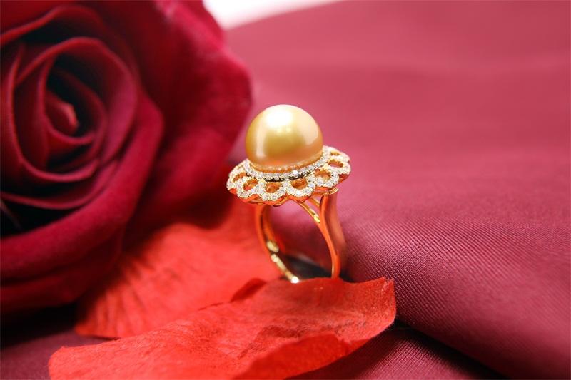 手工珍珠项链加工-销量好的南洋珍珠戒指生产商是哪家