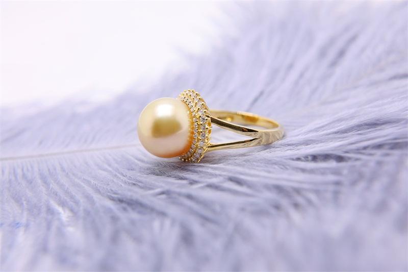 上海优惠的南洋珍珠戒指-哪里有卖高质量的南洋珍珠戒指