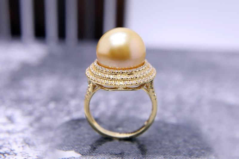 南洋珍珠项链价格|有口碑的南洋珍珠首饰公司