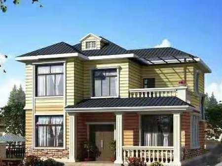 甘肃哪里有供应价格合理的轻钢别墅|会宁轻钢结构房屋别墅厂家