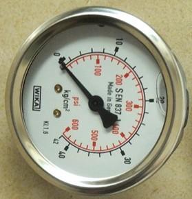 上海威卡耐震压力表批发供应-威卡充油防震压力表