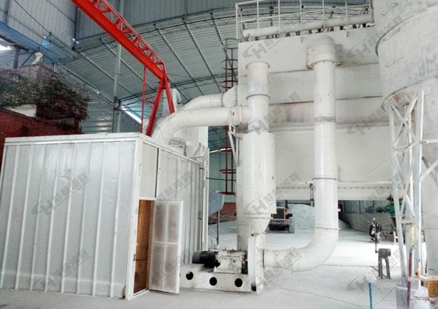 安徽石灰石磨礦機械HCH780超細磨粉機500目環輥磨粉機