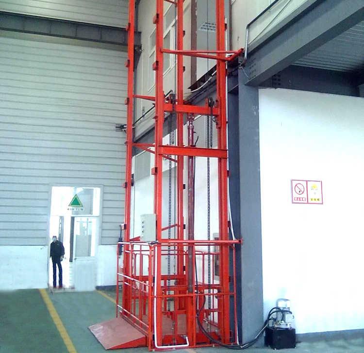 安徽導軌式升降平臺價格-性價比高的導軌式液壓升降平臺當選許昌登高機械