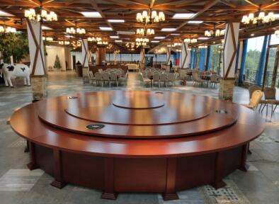 南宁火锅桌|超值的广西实木电动餐桌到哪买