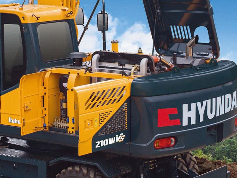 现代R210WVS挖掘机-常州性价比高的现代R210WVS挖掘机出售