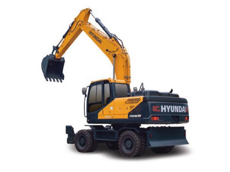 现代R210WVS挖掘机厂家-超值的现代R210WVS挖掘机江苏天恒伟业供应