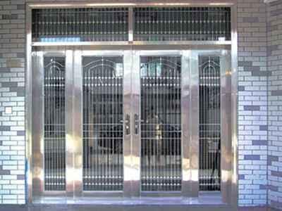 銀川地區有品質的寧夏不銹鋼門-中衛不銹鋼門哪家好