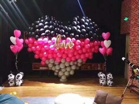气球装饰怎么收费-服务周到的彩琴活动策划推荐