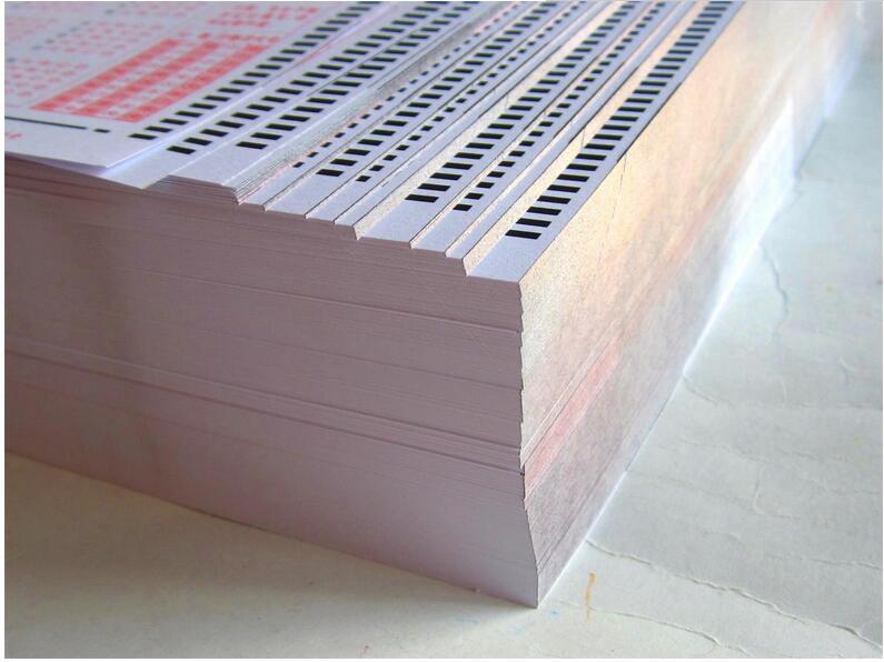 太白县答题卡供应商家 标准考试答题卡免费设计