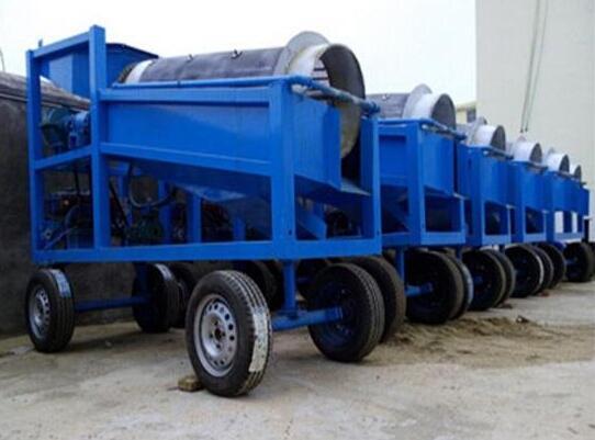 小型淘金设备-移动淘金车-淘金设备厂家-五湖环保