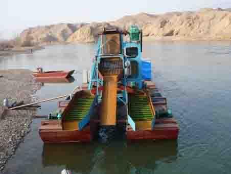你要的!二手淘金船 【赞】淘金挖沙设备供应商【推荐】海龙矿砂