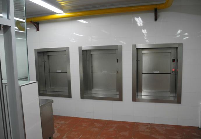 厨房传菜梯安装,广西餐梯厂家