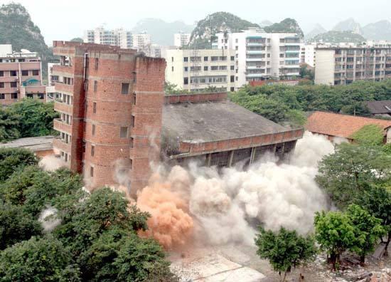 广东房屋拆除工程-放心靠谱的爆破工程推荐
