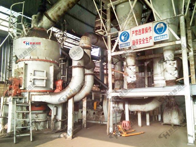 锰矿碎石机HLM1000立式磨粉机高产量粗粉立磨
