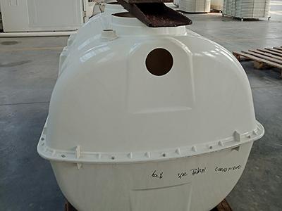 湖北玻璃钢模压三格化粪池|衡水供应划算的玻璃钢三格模压化粪池