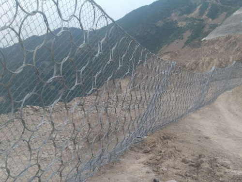 斜坡边坡被动拦石网15131856266柔性被动防护网