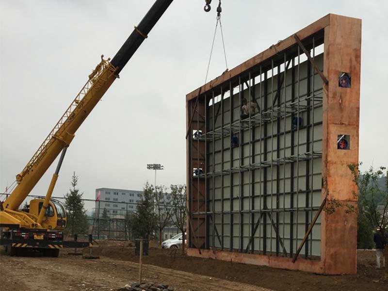 兰州LED显示屏钢结构