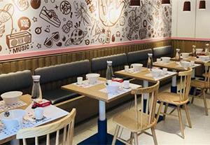 餐飲家具圖片-具有口碑的西安餐廳桌椅推薦