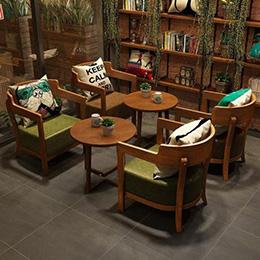 西安咖啡厅家具批发_西安哪家供应的西安咖啡厅桌椅品质好