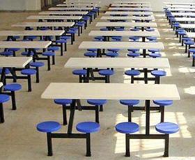 学生食堂桌椅生产厂家_优惠的西安食堂桌椅在西安哪里有供应