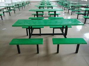 职工餐桌椅市场-买西安食堂桌椅认准隆博办公