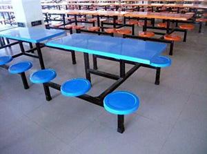 職工餐桌椅市場-口碑好的西安食堂桌椅哪里有供應