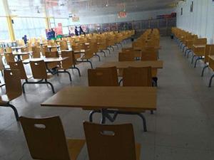 学生食堂桌椅市场-品牌西安食堂桌椅专业供应