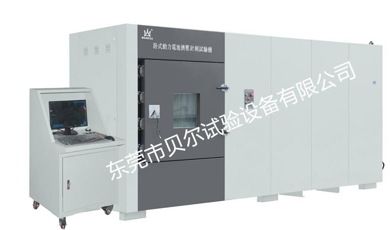 动力电池安全测试之电芯挤压测试