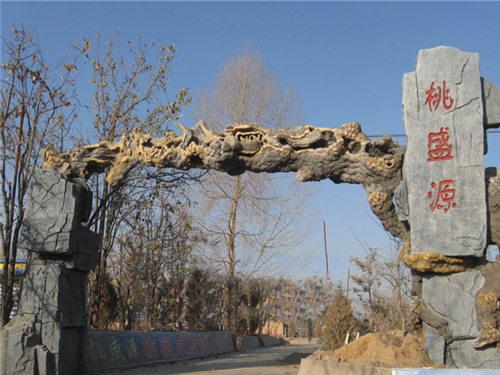 西安榕树景观大门定做 陕西西安假山工程哪家可靠