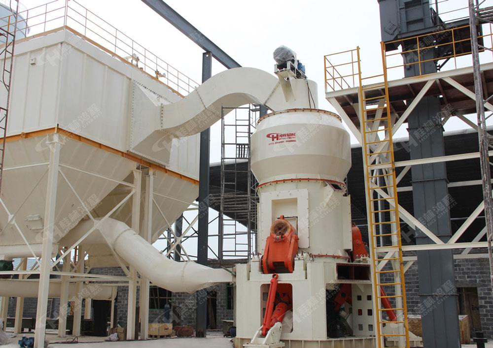 廣西礦石粉碎機HLM1700大型立式磨粉機北流立磨機器