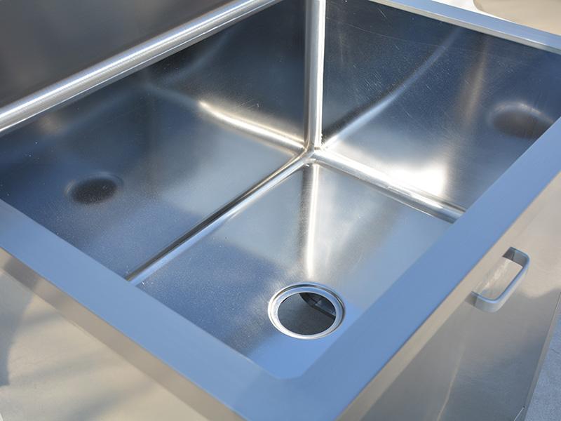 拐角池厂家-滨州提供具有口碑的不锈钢洗手池
